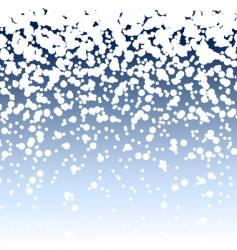 Christmas snow background vector