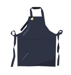Isolated geometric apron vector