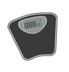 measure weight design vector image