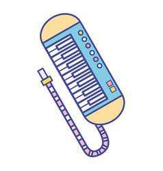 Piano music instrument to melody harmony vector