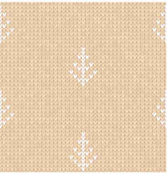 ugly sweater merry christmas white beige nude vector image