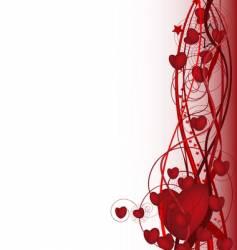 Valentine design vector