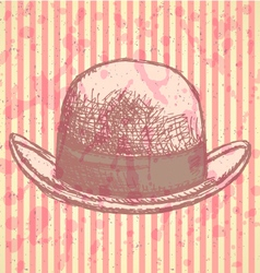 Hat vector image
