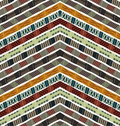 Abstract seamless ethnic pattern vector image vector image