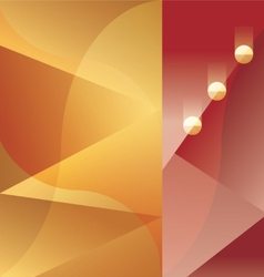 Art Deco abstract background vector image