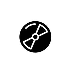 disk glyph icon vector image