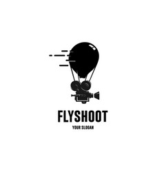 Flyshoot film vector