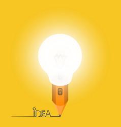 Light pencil vector