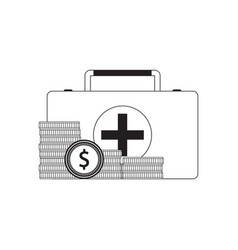 payment for medical care vector image