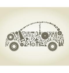 Tool the car vector