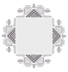 Vintage ornament for your business On a white vector