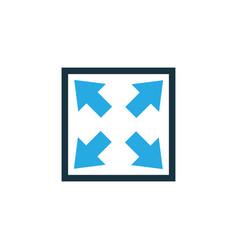 widen colorful icon symbol premium quality vector image