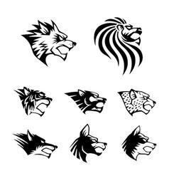 Wild Beast Symbol vector