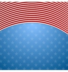 Memorial Day abstract USA flag colors background vector image