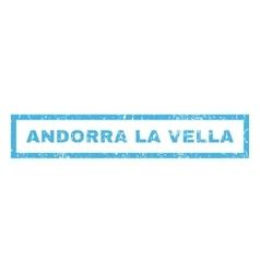 Andorra La Vella Rubber Stamp vector image vector image