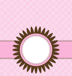 card template vector image vector image