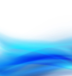 Abstract curve blue flow background and space vector