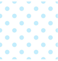 blue circle pattern design white background vector image