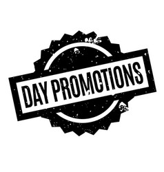 Day promotions rubber stamp vector
