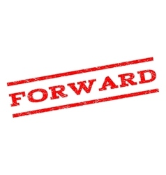 Forward Watermark Stamp vector