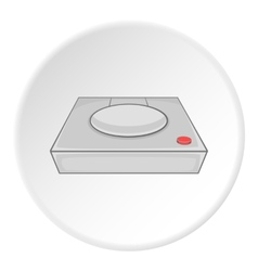 Game console icon cartoon style vector