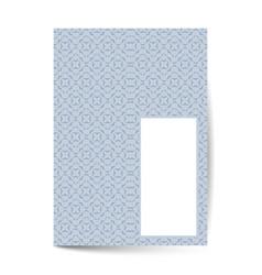 luxury premium cover page design for menu vector image