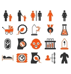Medical icon set vector