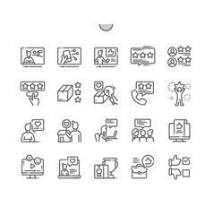 Reviews well-crafted pixel perfect icons vector