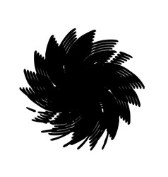 Spiral grunge stamp vector
