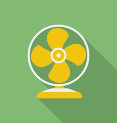 Fan or ventilator icon Modern Flat style with a vector image vector image