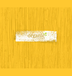 organic nature friendly eco bamboo background bio vector image