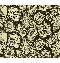 Retro Floral Pattern vector image vector image