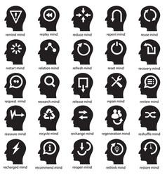 mind development concept vector image vector image