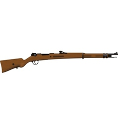 Old Rifle vector image