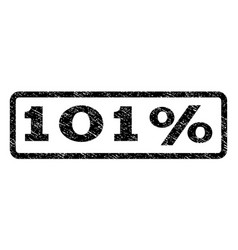 101 percent watermark stamp vector image