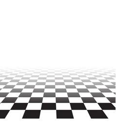black white random square mosaic tiles chess vector image