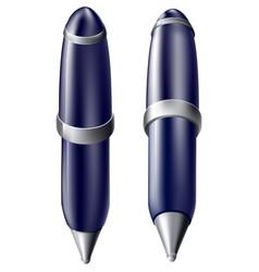 cartoon pen icon vector image