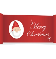 Christmas card banner vector