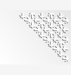 Geometric creative modern design arabic 3d vector