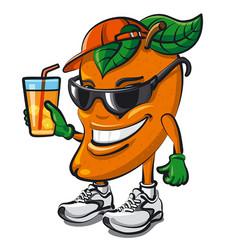 Mango fruit character vector