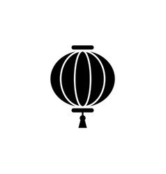 new year china lantern icon can be used for web vector image