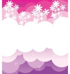 back pink vector image