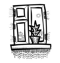 Cartoon image of window icon window symbol set vector