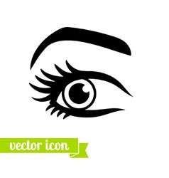 Eye icon 11 vector