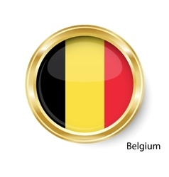 Abstract image of the Belgian flag vector image