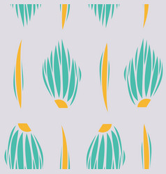 background ethnic pattern boho seamless texture vector image