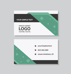 city background business card design template can vector image