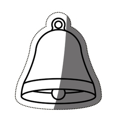 Isolated bell design vector image