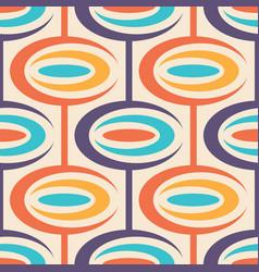 Mid-century modern art background abstract vector