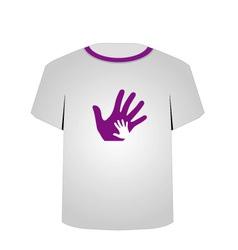 T Shirt Template- Pop art graphic vector image
